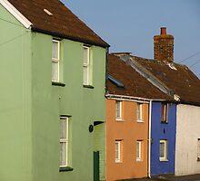 Cottages, Burnham-on-Sea by wiggyofipswich