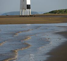 'Lighthouse and Ripples', Burnham On Sea, Somerset by wiggyofipswich