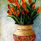 Orange Tulips by Monica Vanzant