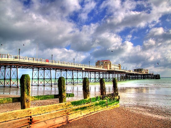 Worthing Pier by Colin J Williams Photography