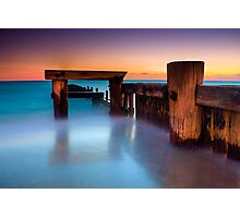 Dusk at Mentone Pier #4 Photographic Print