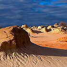 Mungo Wave Rock by Adam Webster