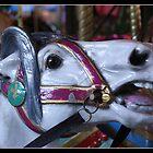 Wild eyed horse figure by Bigart32