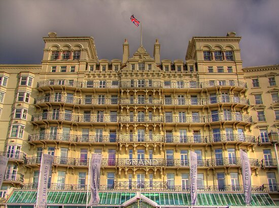 The Grand Hotel - Brighton by Colin J Williams Photography