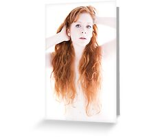 Fire and Ice Greeting Card