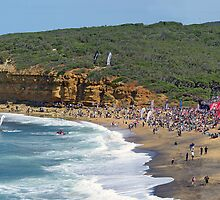 Bells Beach on Easter Sunday by Andy Berry