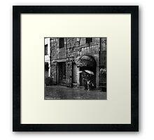 Antichita' - Arezzo, Italy Framed Print