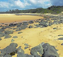 Saltwater Beach, NSW Mid North Coast. by lib225