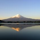 Mt Fuji on an April Morning by Adam Webster