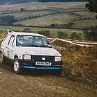Colin Mcrae, Vauxhall Nova c1988 by MSport-Images