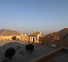Amber Fort. by debjyotinayak