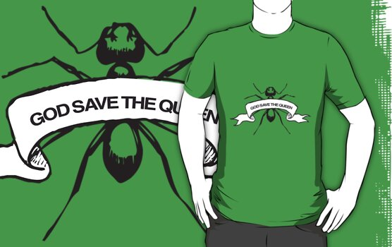 God Save The Queen by VisualKontakt Clothing Co.