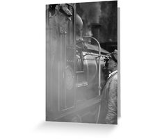 Railwaymen Greeting Card