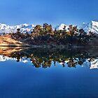 Reflections in Lake Deoria by soumen