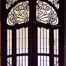 art nouveau door by Moon Black