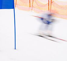 Ghost Skier by Walter Quirtmair