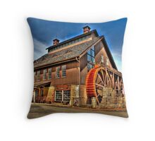 Ye Olde Mill - Ohio Throw Pillow