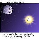 Moonlighting: By Londons Times Cartoons by Rick  London