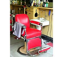 Ye Old Barber Shop #2 Photographic Print