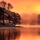 Lake Sunrise by David Mould