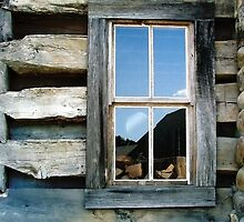 Cabin Window by Todd A. Blanchard