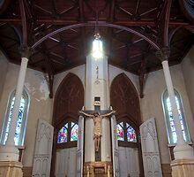 St Stephen Church Entry New Orleans by GJKImages