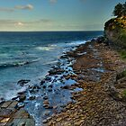 It Rocks (Panoramic) - Avalon, Sydney - The HDR Experience by Philip Johnson
