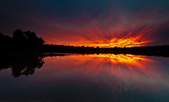 Tie-Dye Lake by Jonathan Stacey