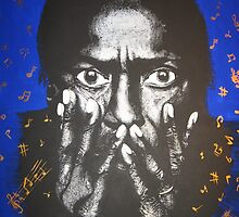 Golden Notes-Miles Davis by orlyyanay