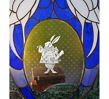 The White Rabbit before the Trial Photographic Print