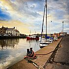 Eyemouth Harbour - Berwickshire, Scottish Borders by David Lewins LRPS