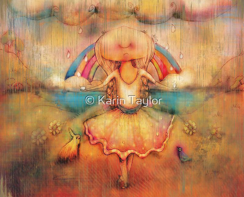 Dancing in the Rain by © Karin  Taylor