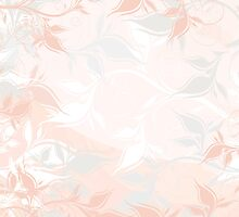 Pastel floral background by Olga Altunina