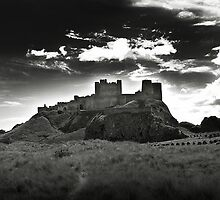 Bamburgh Castle in Northumberland, UK by Richard Flint