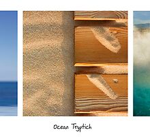 Ocean Tryptich by Alex  Bramwell