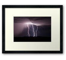 Electrified Framed Print