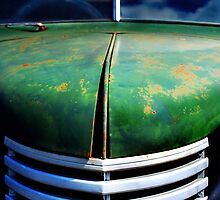 Old Chevy Truck Again by Mark Malinowski