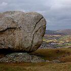 Cloughmore Stone, Rostrevor by Philip Bateman