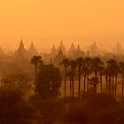 Bagan Sunrise by Gina Ruttle  (Whalegeek)