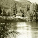 Home On The River's Edge by Tracy Riddell