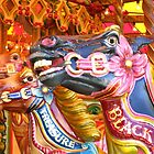 Victorian Carousel York UK Bursting colours by patjila