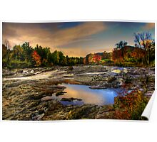 EAST AUSABLE RIVER  Poster