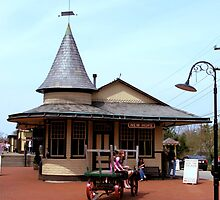 New Hope & Ivyland Railroad Station by djphoto