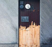 Torn Door by Paul Davey