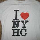 I LOVE NEW YORK HARDCORE by Erik Diaz