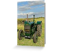 1942 Model N Fordson vintage tractor Greeting Card