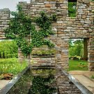 Chanticleer Castle Ruins Garden by Marilyn Cornwell