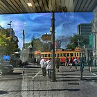 Christchurch Wanderings ( 1 ) Reflections on the Square by Larry Davis