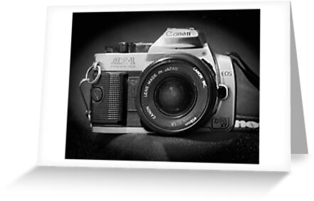 Canon Hybrid AE-1/ Rebel XT (F/DSLR) by Stephen Thomas