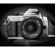 Canon Hybrid AE-1/ Rebel XT (F/DSLR) Photographic Print